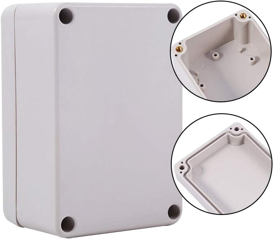 tama/ño : 63x57x35mm Caja Conexiones Impermeable Pl/ástico a Prueba Polvo IP66 ABS Caja Conexiones Bricolaje para Proyecto Caja Caja Conexiones Electr/ónica