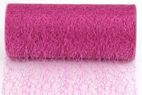 Kel-Toy Sparkle Mesh Craft Fabric, 6-Inch by 10-Yard, Garden Rose from Kel-Toy Inc