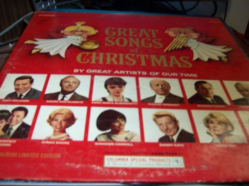 Great Songs of Christmas, By Great Artist of Our Time ()
