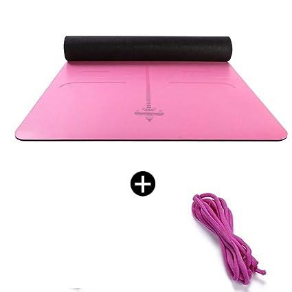 KGXG Esterilla de Yoga Caucho Natural Gimnasio avanzado ...