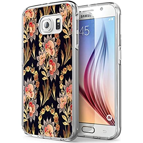 S7 Active Floral,Gifun Soft Clear TPU [Anti-Slide] and [Drop Protection] Protective Case Cover for Samsung Galaxy S7 Active W The Fashionable Floral Sales