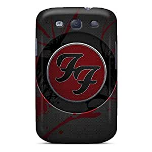 Shock Absorption Cell-phone Hard Cover For Samsung Galaxy S3 With Provide Private Custom Colorful Foo Fighters Pattern Customcases88