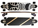 Deluxe Longboard Maxofit Mystic No.16, 106 Cm 9 Strati Di Acero...