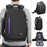 DSLR Camera Backpack Bag by Altura Photo for Camera - Lenses - Laptop Tablet and Photography Accessories (The Great Explorer)