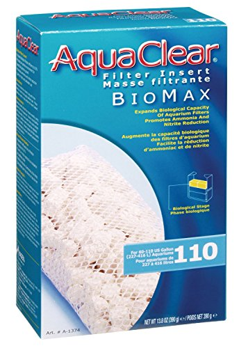 Reduces Ammonia & Nitrate Levels Biomax, 110-Gallon