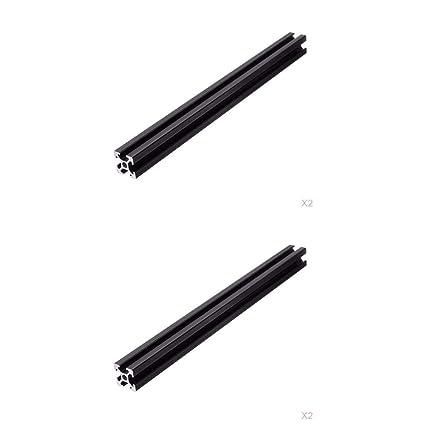 4x2020 T-Slot Perfil De Extrusión De Perfiles De Aluminio Para ...