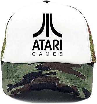 Gorra Beisbol Hombre Gorras De Camionero Sombrero Atari Juego De ...