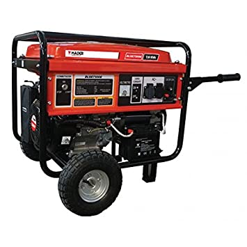Mader Power Tools Generador Trifásico 7.0 Kva 16Hp C/Inicio Electrico: Amazon.es: Jardín