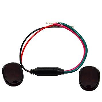 YOUANDMI 12/24V 20A Mini Alarma Sin Cables con Mando ...