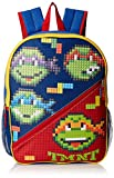 Teenage Mutant Ninja Turtles Big Boys Bubble Block 3-D 16' Backpack, Red/Blue, 16