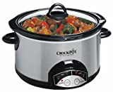 Crock-Pot 5-Quart Digital, Smudge-Proof Slow Cooker SCRP500-SP