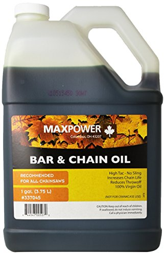 (Maxpower 337045 1-Gallon Bar and Chain Oil)