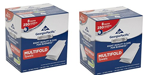 Georgia-Pacific 2212014 Multifold Paper Towels (.2 BOX OF 8 PACKS) by Georgia-Pacific