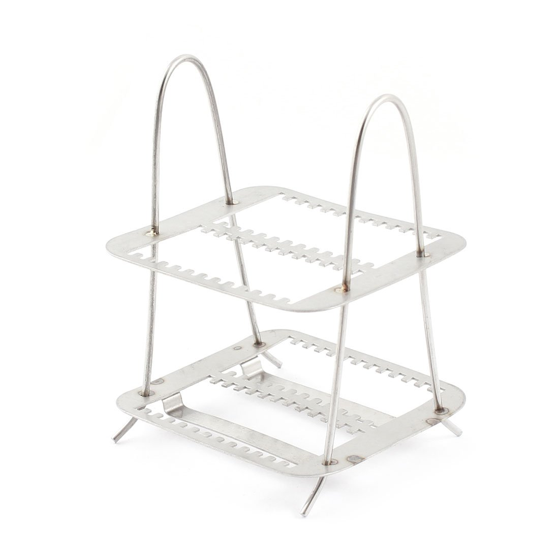 Lab Spare Parts Microbiology Stainless Steel Staining Rack 26 Slots SourcingMap a14091000ux0461