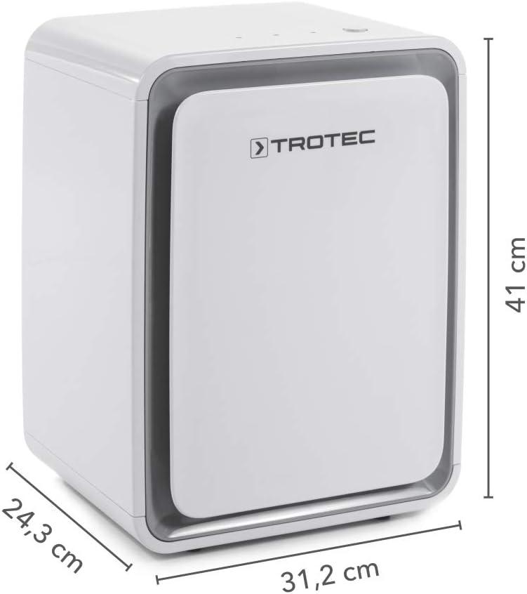 TROTEC Deshumidificador eléctrico TTK 24 E, 10L/24h, Depósito 1,6 ...