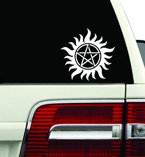Anti-Possession Symbol Supernatural catholic voodoo demons Decal Sticker for Car Window Laptop wall (5.5