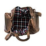 Hide & Drink, Leather Luggage Duffle Bag with