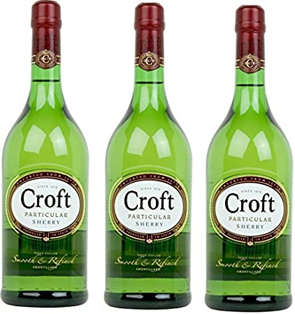 De color oro pálido y brillante,Croft Particular es un fino de jerez con un pequeño toque fresco, re