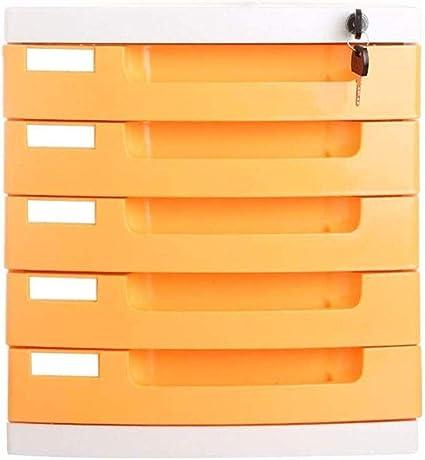 Archivadores de 5 cajones para almacenamiento datos oficina ...