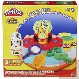 Amazon Com Play Doh Fuzzy Pet Salon Toys Amp Games