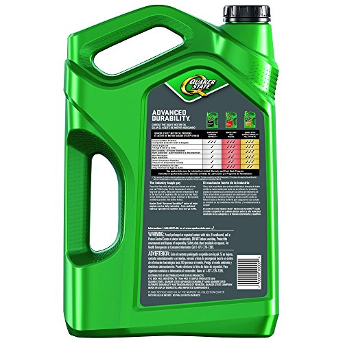 Quaker state 550038290 advanced durability 5w 20 motor oil for Quaker state advanced durability motor oil review