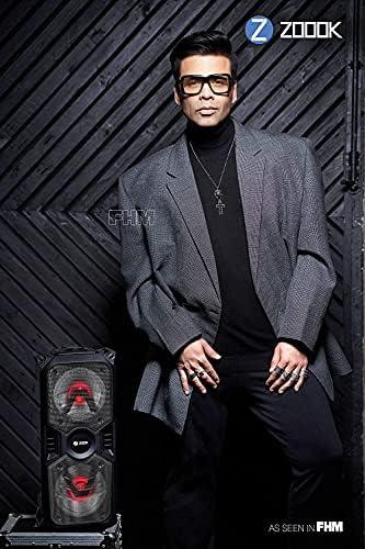 Zoook Rocker Thunder Plus 40 watts Karaoke Bluetooth Party Speaker with Remote & Wireless Mic