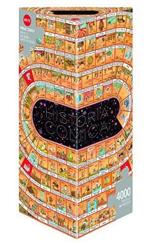 Heye 29342 Degano Historia Comica 2 Scatola Triangoalre Puzzle 4000 Pezzi