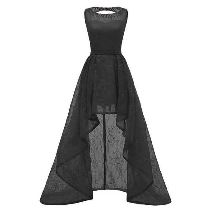Dydsz Women\'s Prom Dress Hi-Lo Homecoming Dresses Short for ...