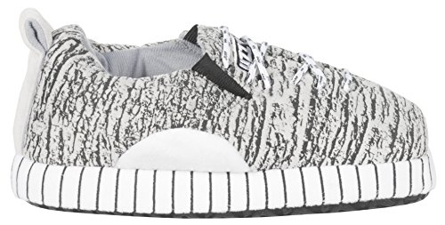 Grey Uzzy Select Slippers Unisex in qqAxBw