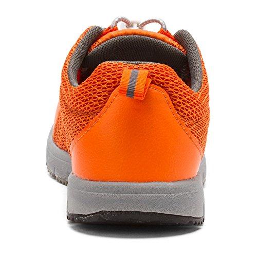 Propét Sportschuhe Frauen Propét Grey Frauen Orange 74Pxq7R