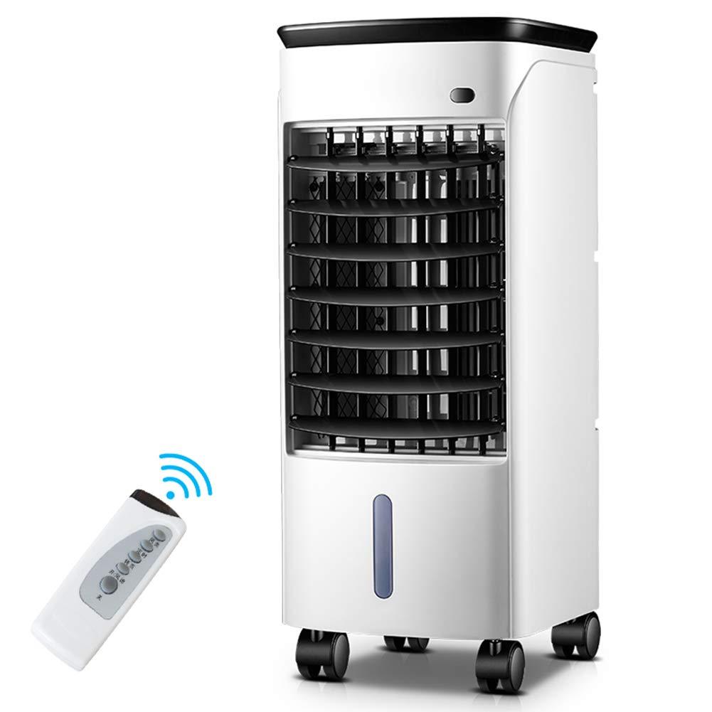 HAIPENG 扇風機 空調ファン エアコンのファン 空冷ファン 3-in-1 ポータブル エアコン 冷却 モバイル リモコン 7hタイマー、 80W (色 : 白, サイズ さいず : 23.9x27.5x58.9cm) 23.9x27.5x58.9cm 白 B07G9FGZQX