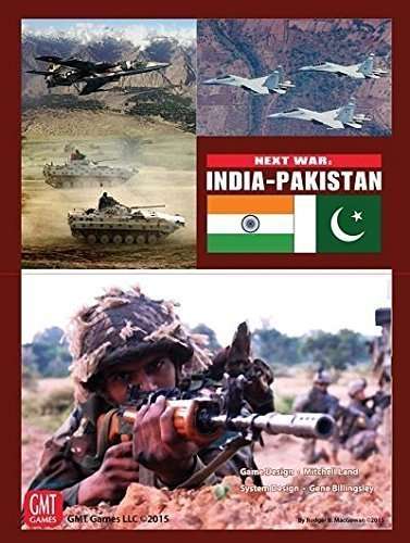 GMT Games Next War: India-Pakistan (Best Game Of India)
