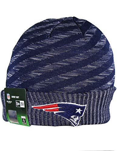 NE PATRIOTS Adult Winter Knit Beanie Hat One Size Fits Most Multicolor