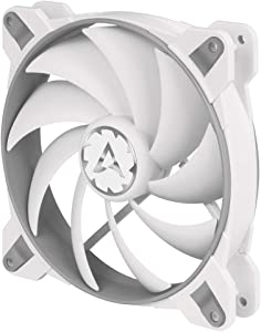 ARCTIC BioniX F140-140 mm Gaming Case Fan with PWM Sharing Technology (PST), Very Quiet Motor, Computer, Fan Speed: 200–1800 RPM - Grey/White