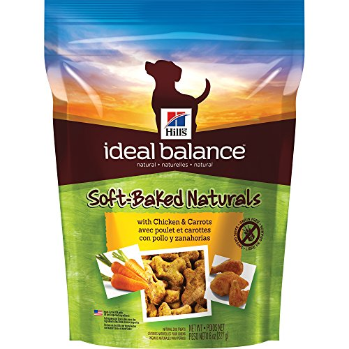 Hills Ideal Balance Soft Baked Naturals With Chicken   Carrots Dog Treats  8 Oz Bag
