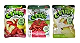 Brothers-ALL-Natural Gluten Free Freeze Dried Fruit Crisps 3 Flavor Variety 6 Bag Bundle, 2 each: Asian Pear, Strawberries Bananas, Strawberries.26-.42 Ounces