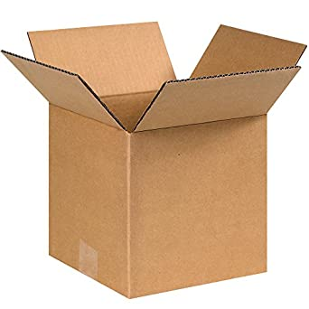 100-15 x 8 x 8 Corrugated Shipping Boxes Storage Cartons Moving Packing Box