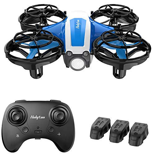 Holyton Mini Drone for Kids Beginners, Hand Operated Remote control Micro Quadcopter with 21 Mins Flight Time, Auto…
