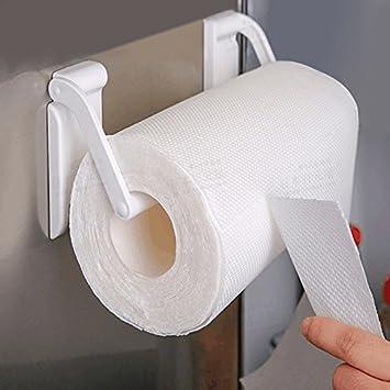 Soporte magnético para toallas de papel de cocina, soporte para rollo de papel para frigorífico