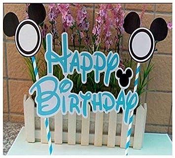 Guirnalda Ratón Infantil Estilo Feliz Cumpleaños Decoración ...