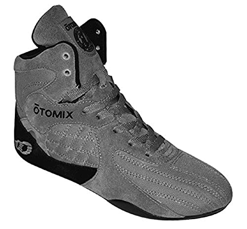 05. Otomix Grey Stingray Escape Bodybuilding Weightlifting MMA & Grappling Shoe Men's