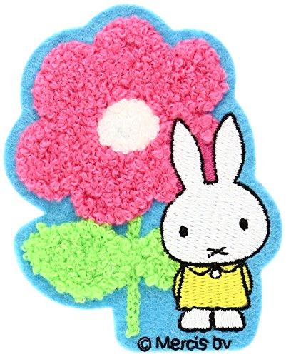 Minoda miffy flower emblem Iron & seal amphibious FLOWER D02Y0019