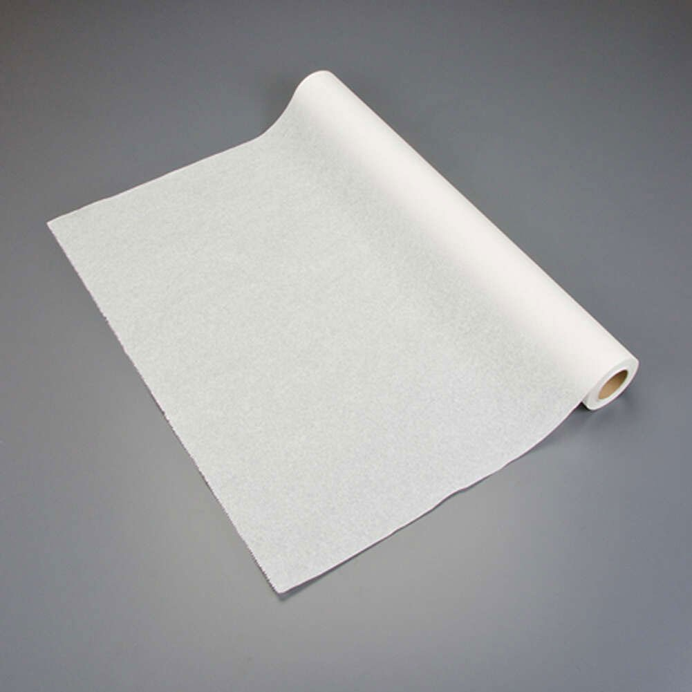 Graham Medical 007 Quality Table Paper, Crepe, 24'' Width, 125' Length, White (Pack of 12)