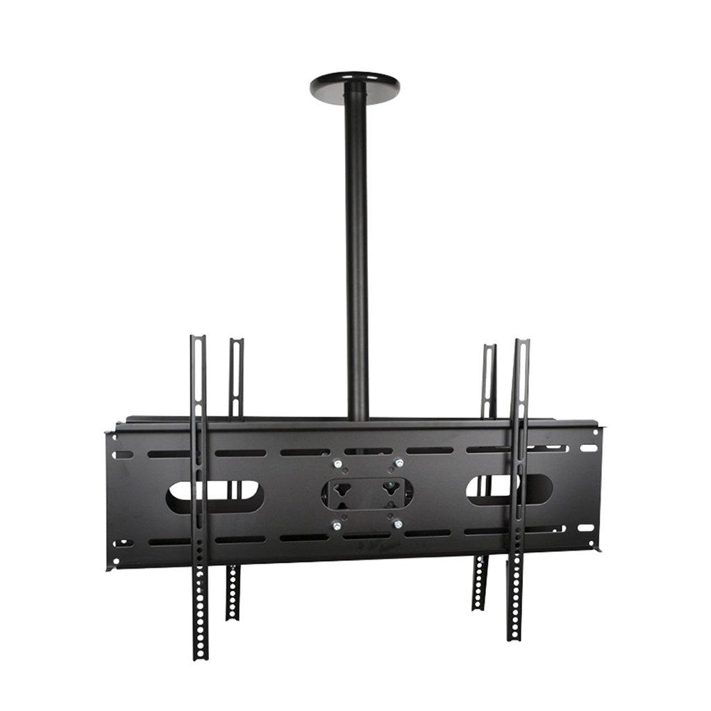 調整可能なダブルスクリーン天井テレビブラケットチルト回転マウントLEDプラズマモニターフラットパネルディスプレイスマートテレビ   B07D482748