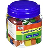Didax Educational Resources 102 Piece Color Cubes, Wooden