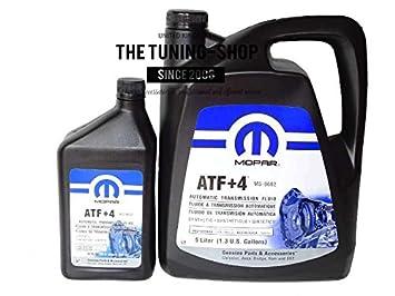 Original Mopar ATF + 4 5L + 0.946l Transmisión automática Fluido