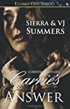 Carrie's Answer, Sierra Summers and V. J. Summers, 1419966162