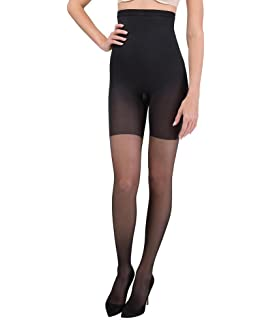 e890ab09054 ASSETS Red Hot Label by SPANX Firm Control High-Waist Pantyhose Thin  Leggings