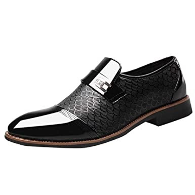 2c8b0df18921 Amazon.com: OutTop(TM) Men's Dress Shoes Leather Oxford Shoes for ...