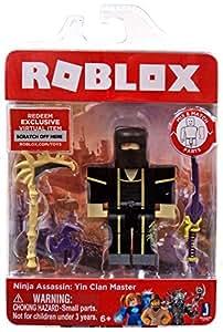 Amazon.com: Roblox Ninja Assassin: Yin Clan Master - Figura ...